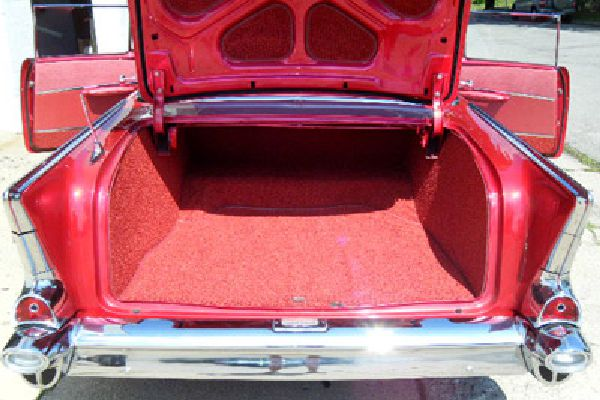 Auto carpeting by Barry Seat