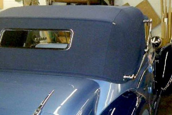 Convertible tops by Barry Seat.